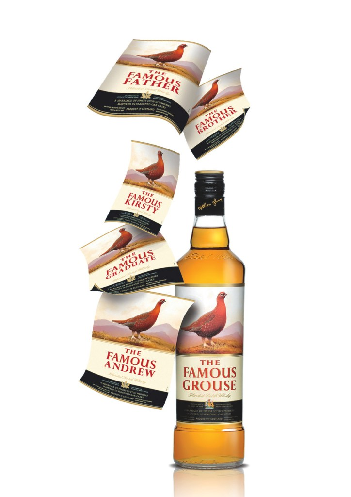 The Famous Grouse - Gepersonaliseerd Label