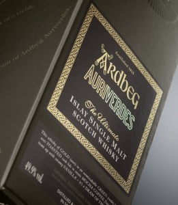Ardbeg Auriverdes Verpakking