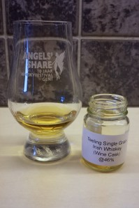 Teeling Single Grain Whiskey sample