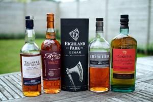 NAS whiskies of No Age Statement whiskies