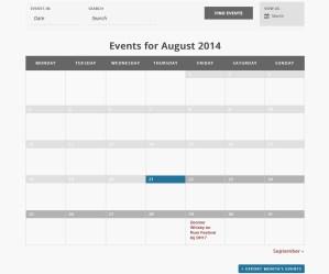 Whisky Kalender - Maandoverzicht