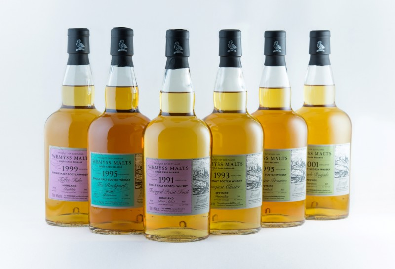 Wemyss Malts single casks maart 2015