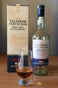 Ons flesje Talisker Port Ruighe is alvast leeg, slecht zal hij dus niet geweest zijn.