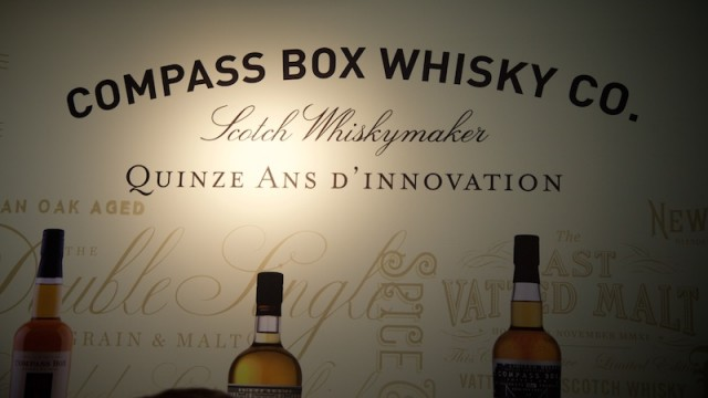 Compass Box Whisky Co. stand op Whisky Live Paris