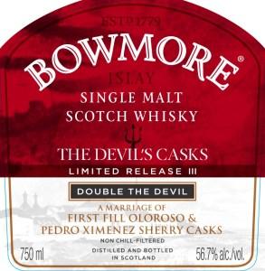 Bowmore Devil's Cask III Double the Devil
