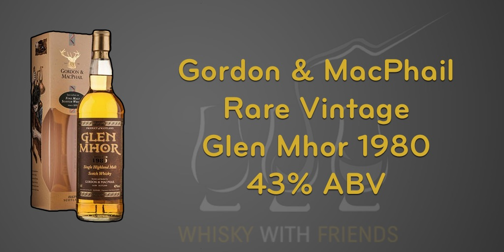 Gordon & MacPhail - Glen Mhor 1980