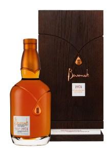 Benromach 1974 - Fles & Verpakking