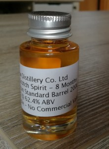 The Glasgow Distillery - Spirit - Matured 8 Months - Sample