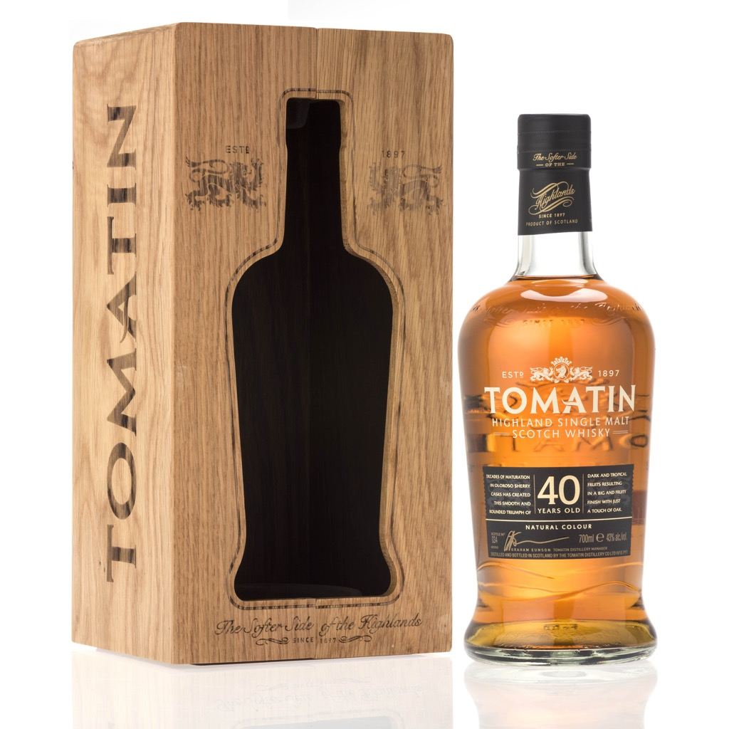Tomatin 40yo 70cl - Travel Retail