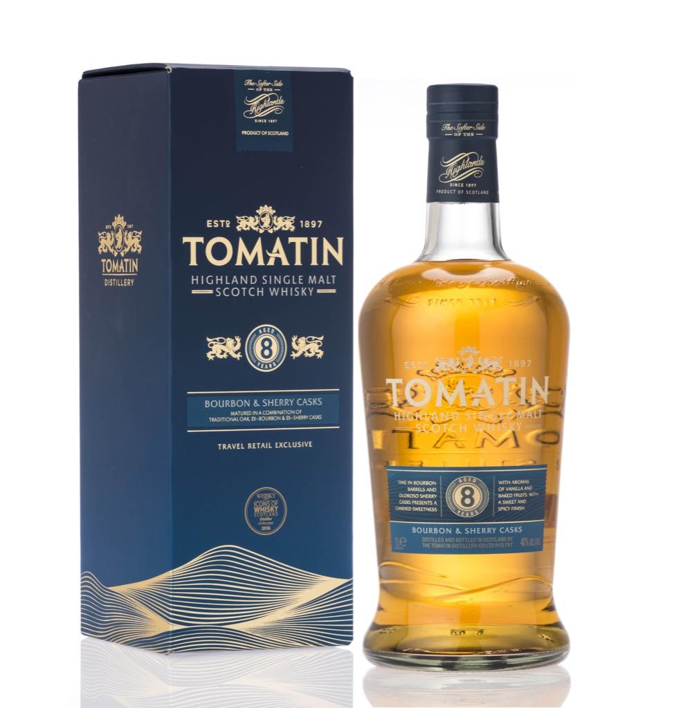 Tomatin 8yo 1L - Travel Retail