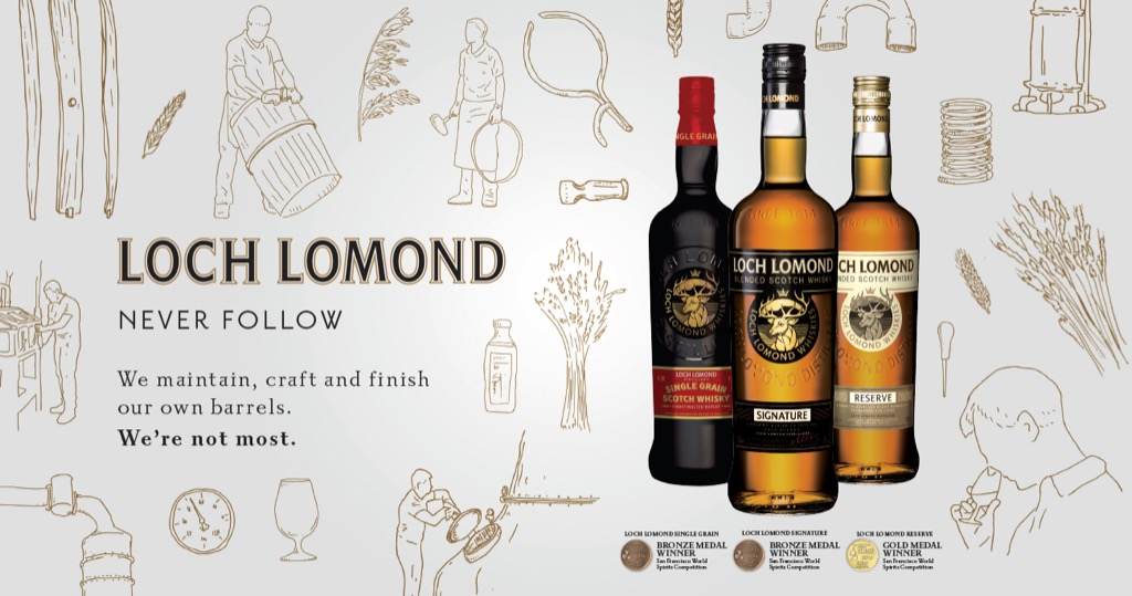 Loch Lomond Whisky's