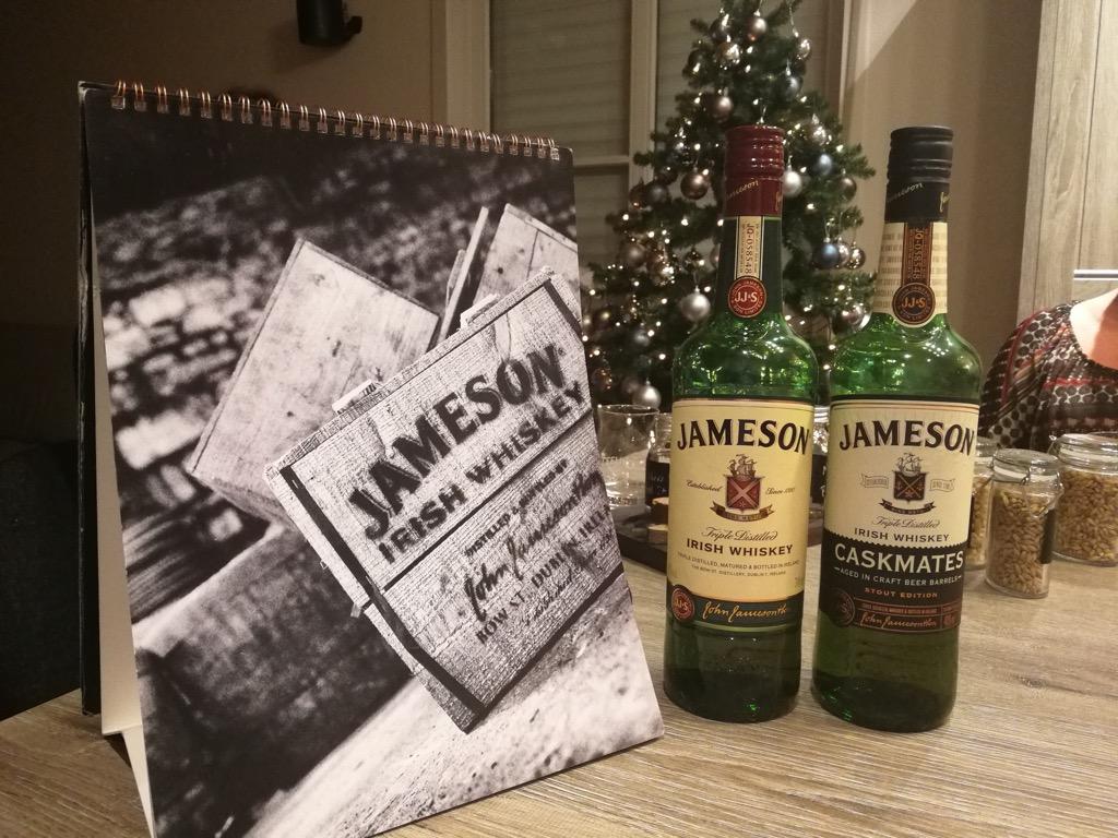 Een Jameson Caskmates tasting thuis!