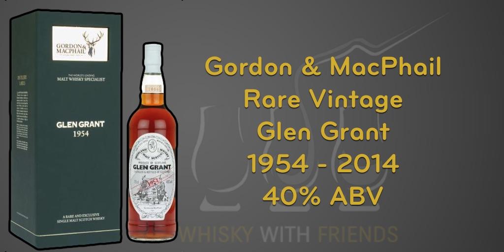 Glen Grant 1954 - Gordon & MacPhail