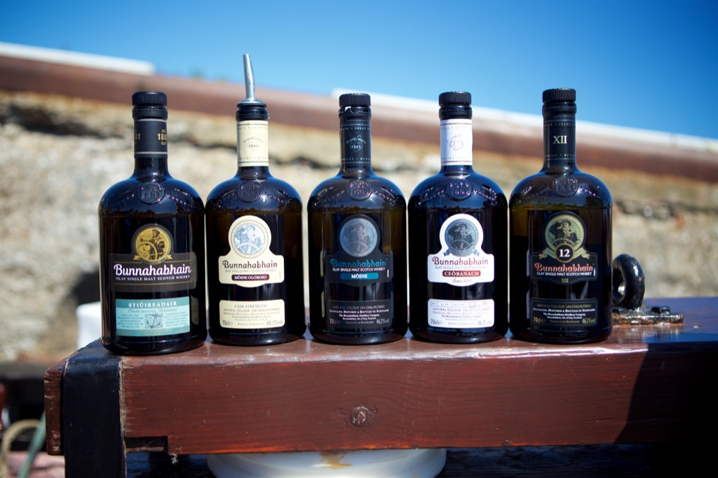 Sail away with Bunnahabhain Whisky
