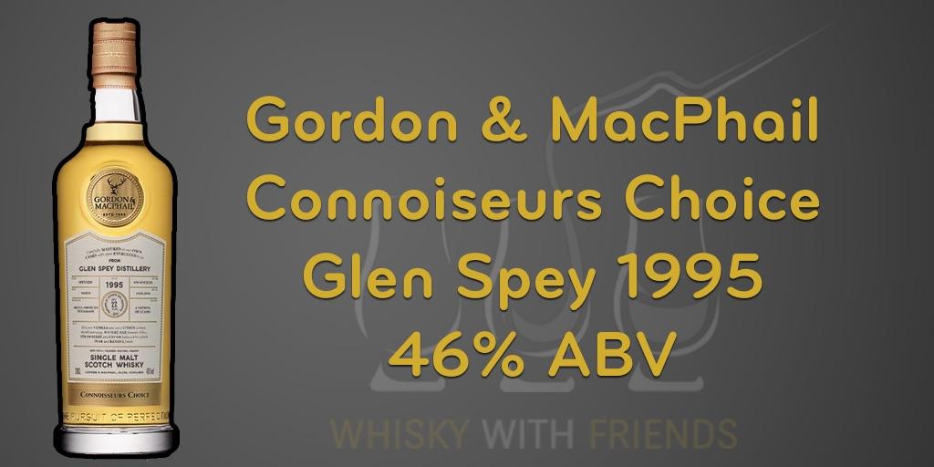 Gordon & MacPhail Connoisseurs Choice Glen Spey 1995