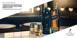 Johnnie Walker Blue Label Ghost and Rare Port Ellen