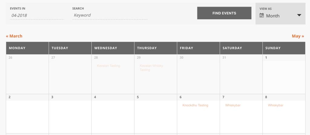De Whisky Kalender zoals hij ooit was