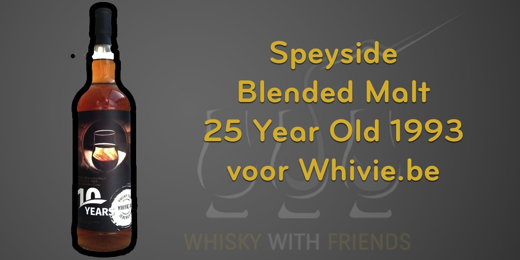 Speyside Blended Malt 25 Year Old 1993 voor Whivie