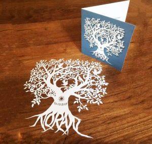 Custom Birth Announcement – Noran