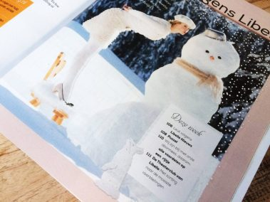 Papercut Illustrations for Libelle Magazine - Magazine - Bunny - Whispering Paper