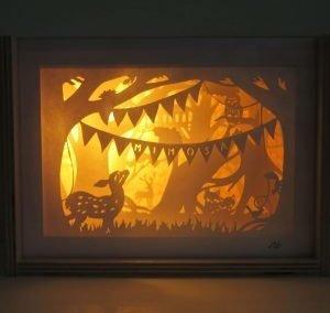 Papercut Diorama Nightlights