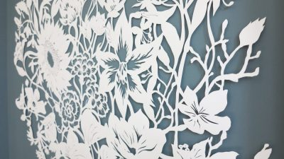 Corporate Commission - Papercut VT Wonen TV Show - Detail Middle Right 2 - Whispering Paper