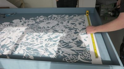 Corporate Commission - Papercut VT Wonen TV Show - Wip Framing - Whispering Paper