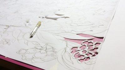Corporate Commission – Papercut VT Wonen TV Show – Work in Progress 1 - Whispering Paper