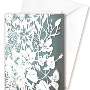 Double card - Flower wall hanging