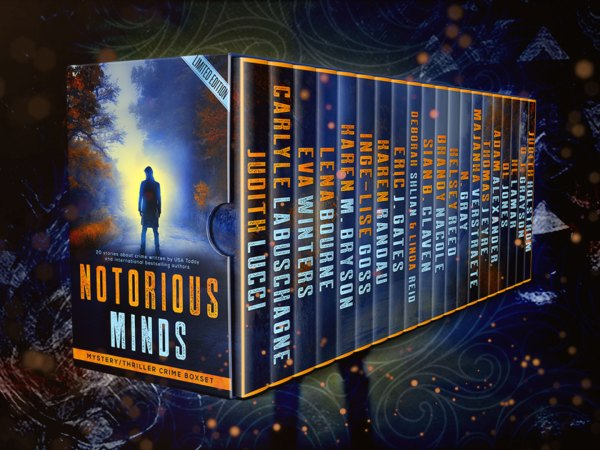 Notorious Minds Boxset from Fire Quills Publishing