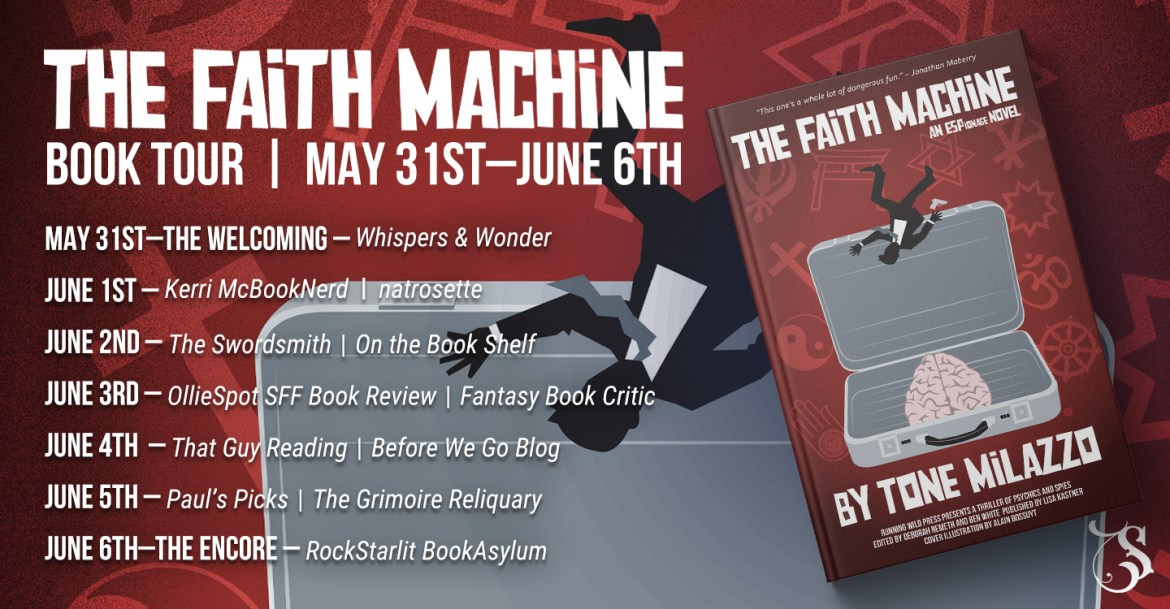 Storytellers On Tour Presents: The Faith Machine by Tone Milazzo