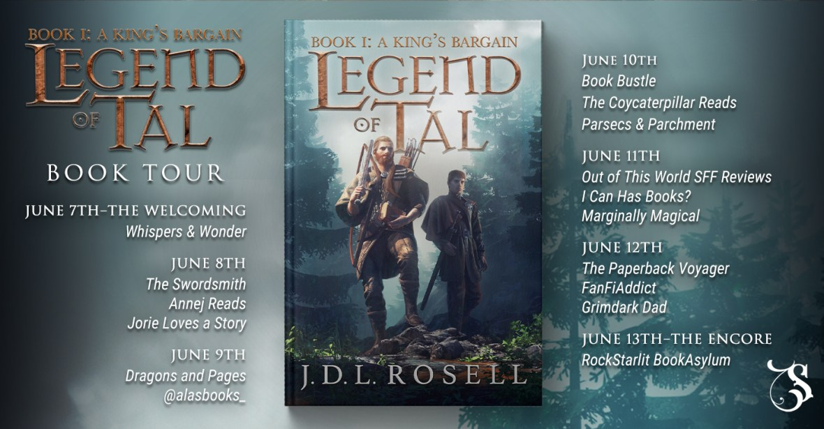 Storytellers On Tour Presents: A King's Bargain by J.D.L. Rosell