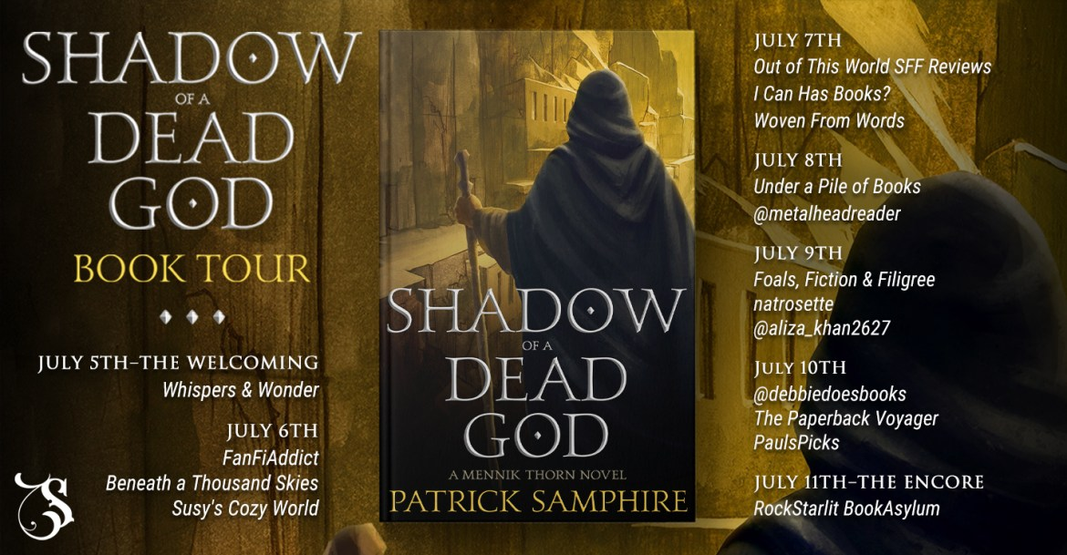 Storytellers On Tour Presents: Shadow of a Dead God by Patrick Samphire