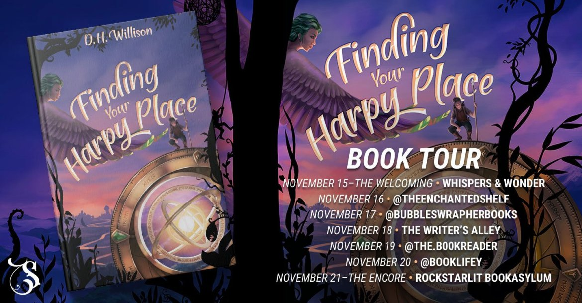Storytellers On Tour Presents: Finding Your Harpy Place by D. H. Willison