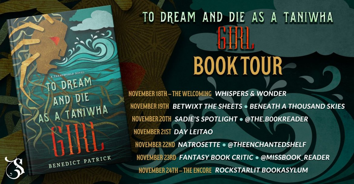 Storytellers On Tour Presents: To Dream and Die as a Taniwha Girl by Benedict Patrick