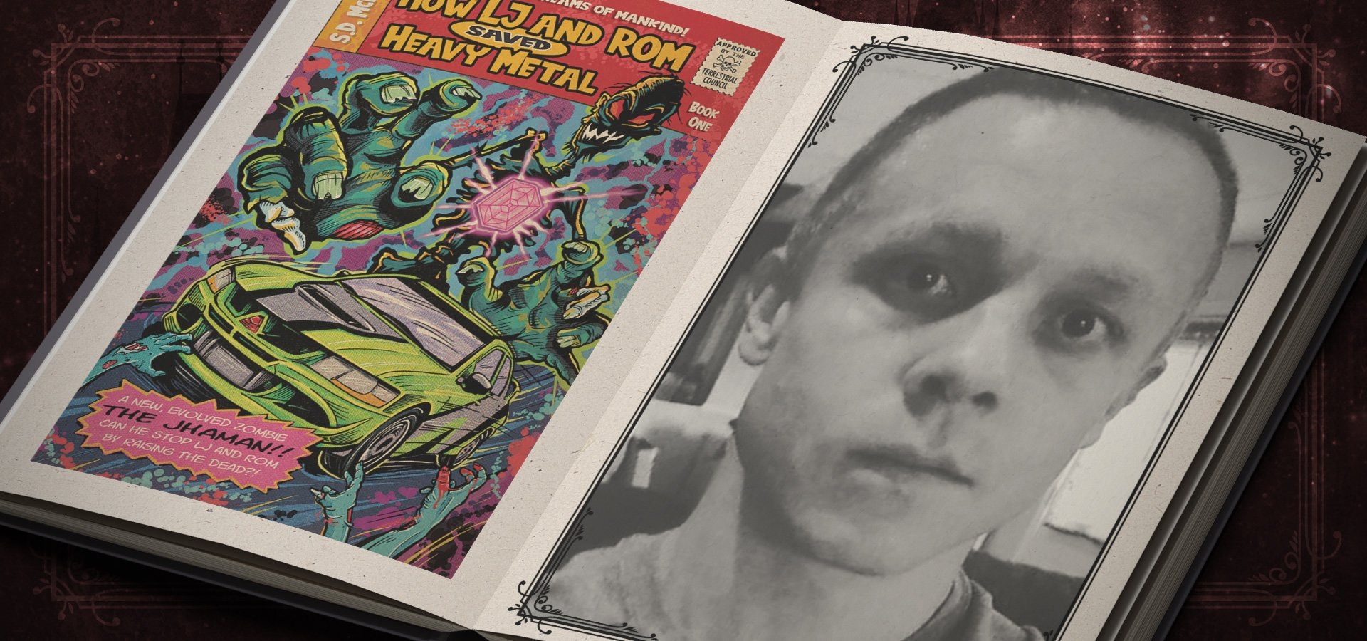How LJ and Rom Saved Heavy Metal by S.D. McKinley