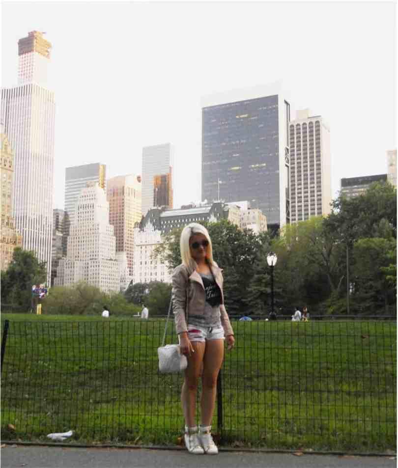 Bella in Central Park NYC