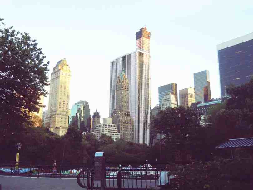 Central Park Manhattan view