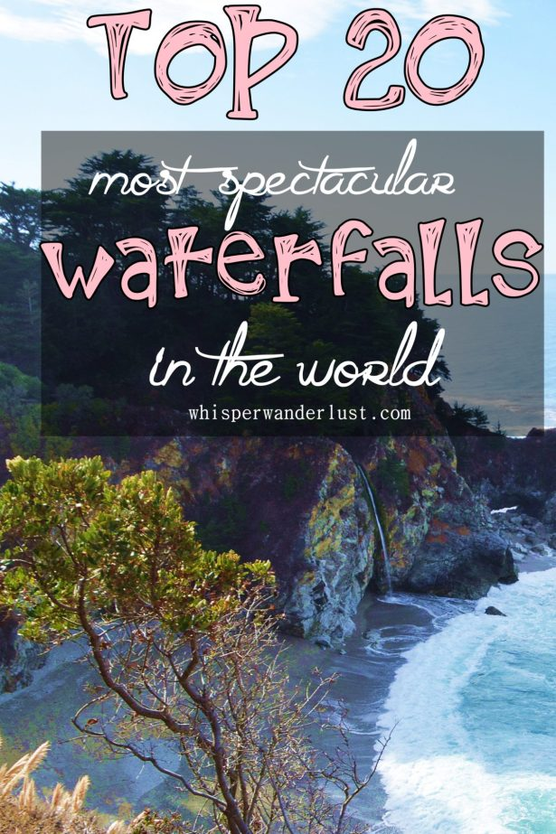 Top 20 most spectacular waterfalls in the world