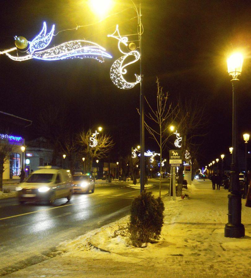 downtown Sinaia