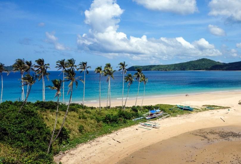 Napcan Beach El Nido Palawan