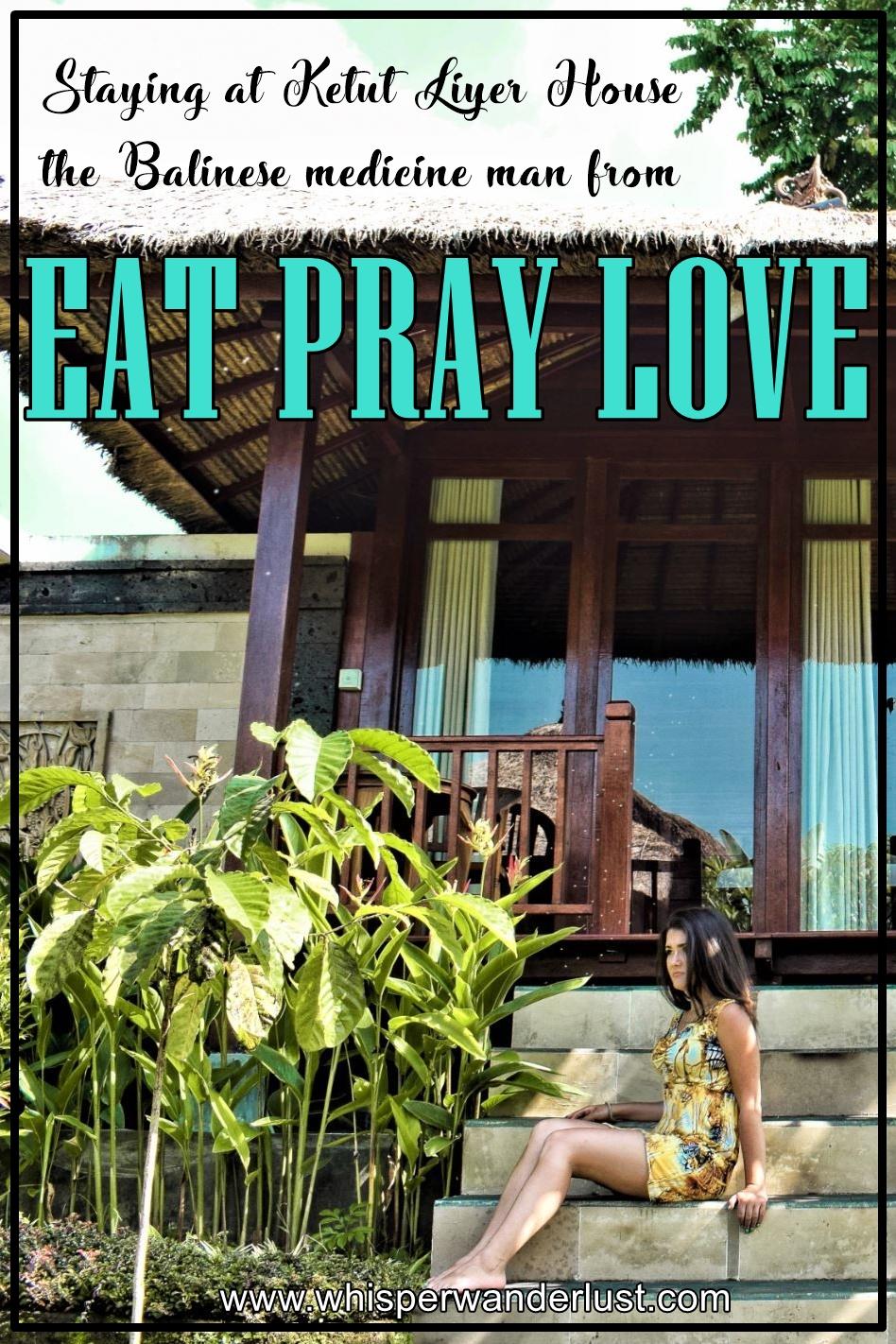 UBUD BALI EAT PRAY LOVE