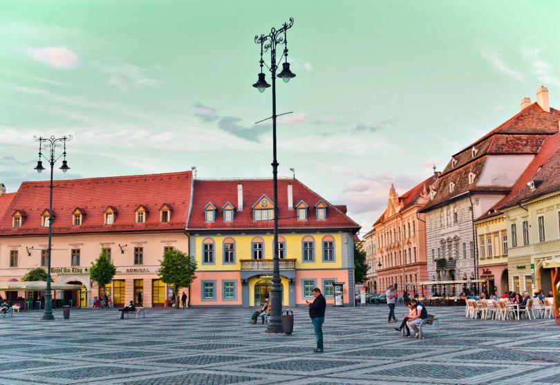 Sibiu RomaniaTransilvania