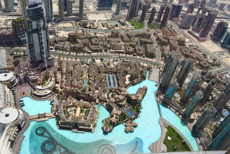 visiting Burj Khalifa Dubai