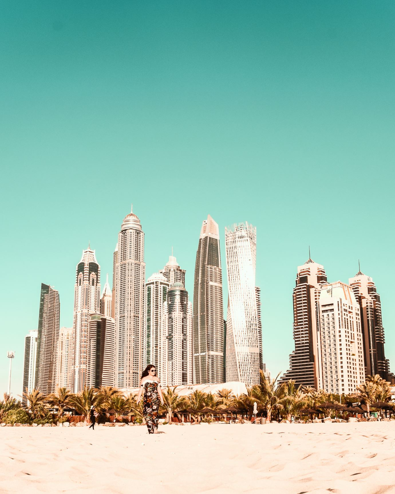 JBR beach Dubai