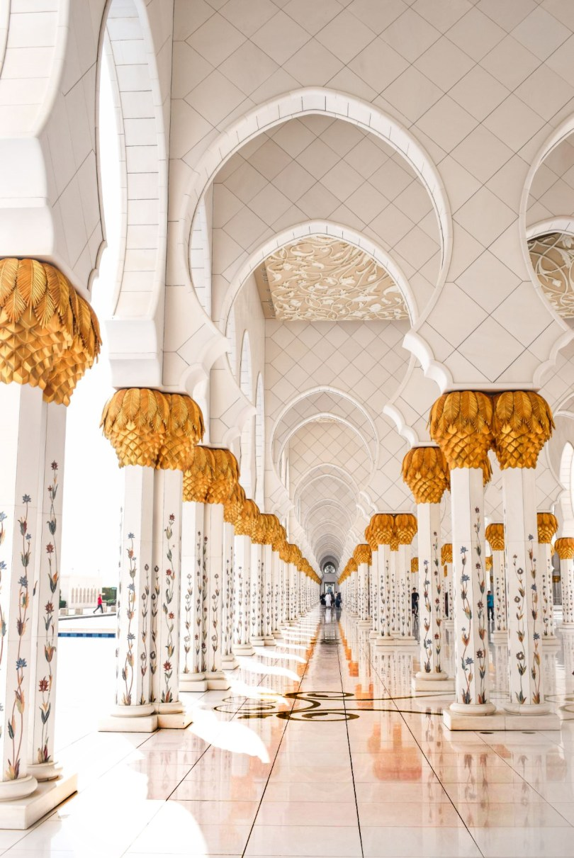 Sheik Zayed Mosque Abu Dhabi UAE