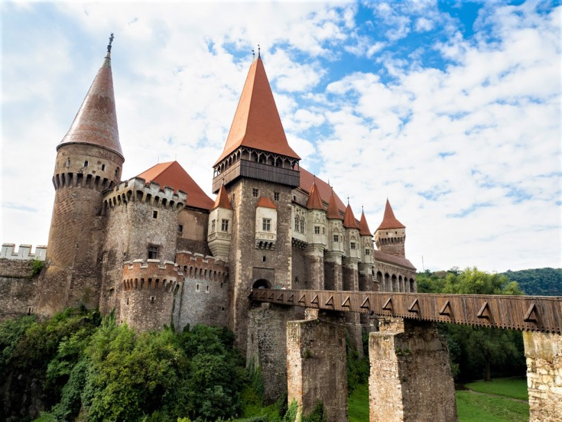 Corvin Castle - best places to visit in Romania