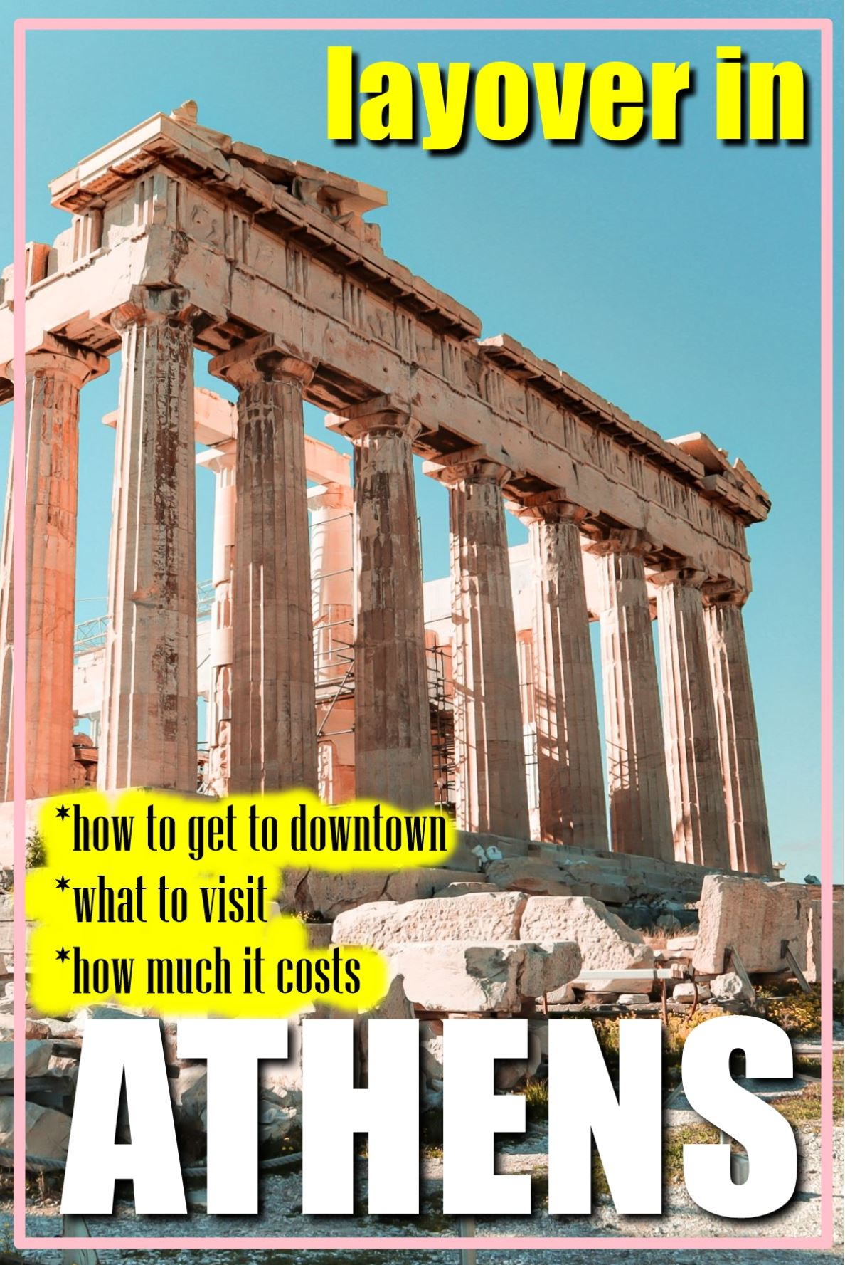 Athens | Greece | Athens layover | layover in Athens |
