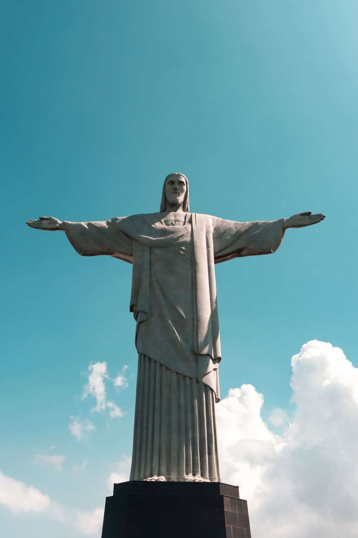 Christ the redeemer Best places to visit in Rio de Janeiro