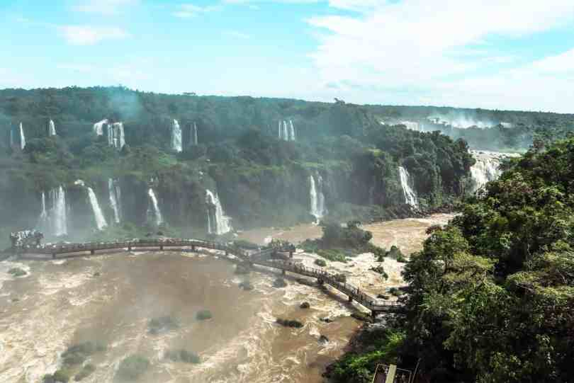 Brazil Iguacu Waterfall